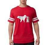 LET'S CUDDLE Women's V-Neck T-Shirt
