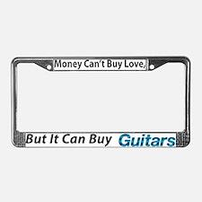 moneyguitars license plate frame