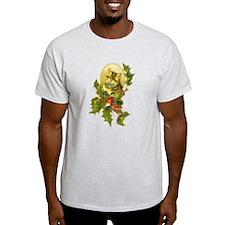Cute Vintage Christmas Cat T-Shirt
