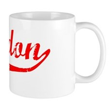 Braedon Vintage (Red) Mug