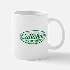 Callahan Auto Parts Sandusky Ohio green Mugs