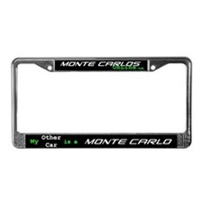 My other car is a Monte License Plate Frame