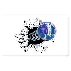 Breakthrough Bowling Ball Decal