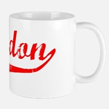 Braydon Vintage (Red) Mug