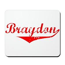 Braydon Vintage (Red) Mousepad