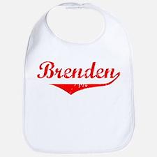 Brenden Vintage (Red) Bib