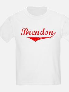 Brendon Vintage (Red) T-Shirt