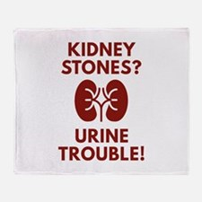 Urine Trouble Stadium Blanket
