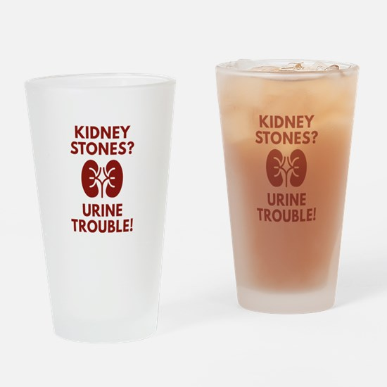 Urine Trouble Drinking Glass