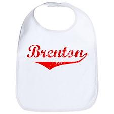 Brenton Vintage (Red) Bib