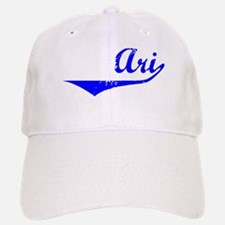 Ari Vintage (Blue) Baseball Baseball Cap