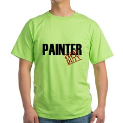 Off Duty Painter Green T-Shirt