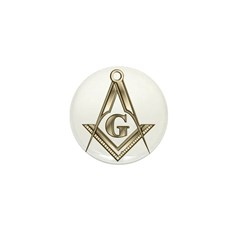 The Square and Compasses Mini Button (100 pack)