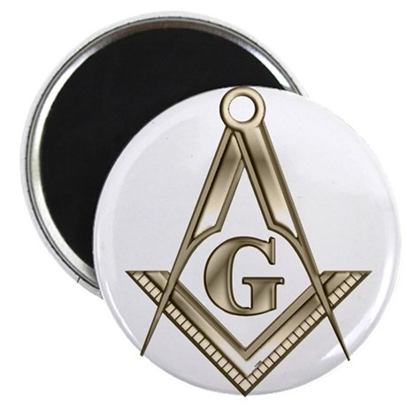 """The Square and Compasses 2.25"""" Magnet (10 pack)"""