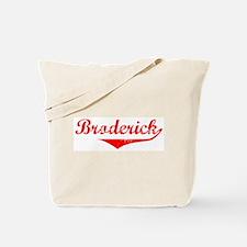 Broderick Vintage (Red) Tote Bag