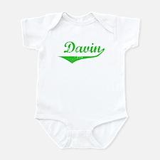 Davin Vintage (Green) Onesie