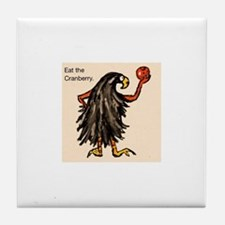 Cranivore Crow Tile Coaster