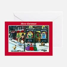 A Christmas Carol Corgi Cards Greeting Cards (Pk o