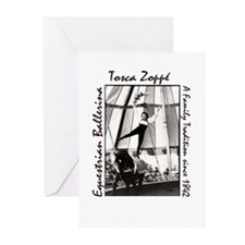 BW Tosca on Vidbels 2 John Tremblay Greeting Cards