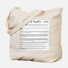 Bill of Rights 2 Tote Bag