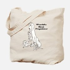 C Best Pupsitter Tote Bag