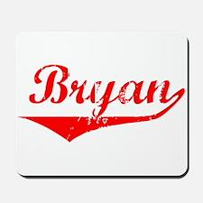 Bryan Vintage (Red) Mousepad