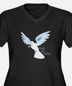 Birds Of Feather Plus Size T-Shirt