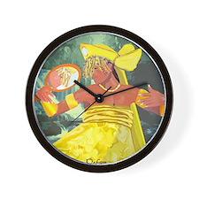Oshun yeye Wall Clock