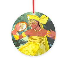 Oshun yeye Ornament (Round)