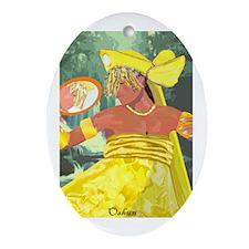 Oshun yeye Oval Ornament