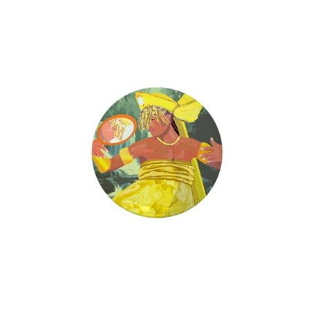 Oshun yeye Mini Button