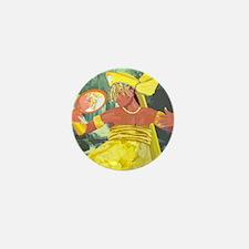 Oshun yeye Mini Button