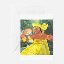 Oshun yeye Greeting Card