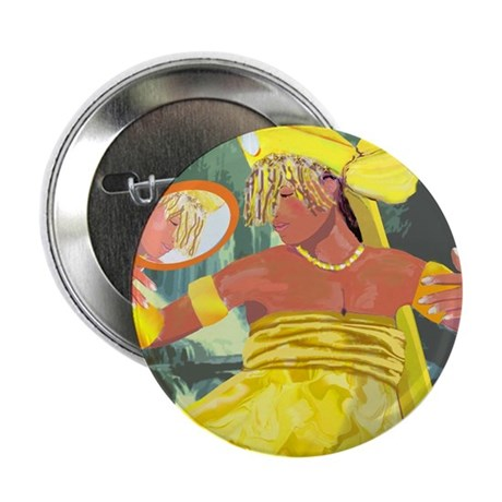 "Oshun yeye 2.25"" Button (10 pack)"