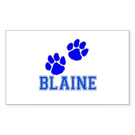 Blaine Rectangle Sticker