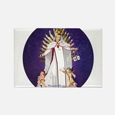 Our Lady of Mercy Rectangle Magnet