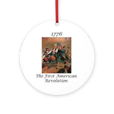 2nd American Revolution Keepsake (Round)