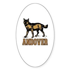 Andover Oval Decal