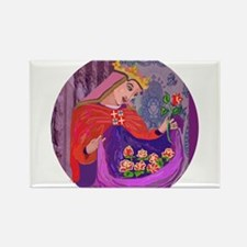 Queen Isabel of Portugal Rectangle Magnet