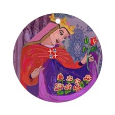 Queen Isabel of Portugal Ornament (Round)
