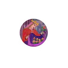 Queen Isabel of Portugal Mini Button