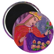 """Queen Isabel of Portugal 2.25"""" Magnet (10 pack)"""