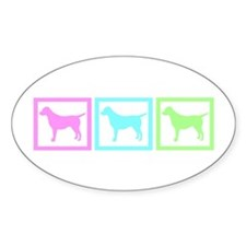 Dog Squares Decal