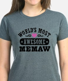 World's Most Awesome Memaw T-Shirt