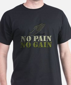 No Pain No Gain Track T-Shirt