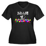 ballsshirtblack Plus Size T-Shirt