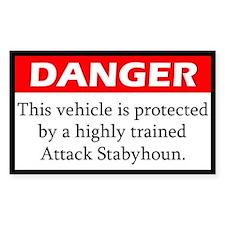 Attack Stabyhoun Decal