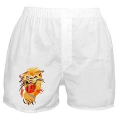 Abstract Tiger Boxer Shorts