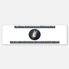 """My Other Vehicle"" Boat Bumper Bumper Sticker"