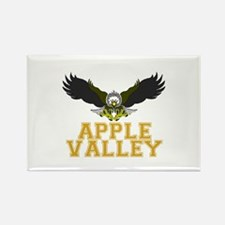 Apple Valley Rectangle Magnet